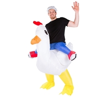 Inflatable Chicken Costume Halloween Costume Trick or Treat