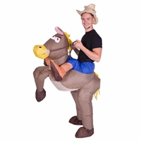 Inflatable Cowboy Halloween Costume Trick or Treat  Halloween Costume Trick or Treat