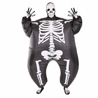 Inflatable Skeleton  Halloween Costume Trick or Treat  Halloween Costume Trick or Treat
