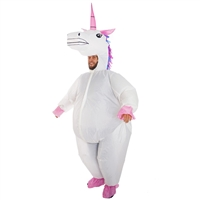 Inflatable Deluxe Unicorn  Halloween Costume Trick or Treat