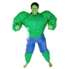 Inflatable Hulk Halloween Costume Trick or Treat  Halloween Costume Trick or Treat