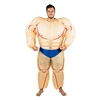 Inflatable Muscle Suit   Hallowen Costume Trick or Treat One Size Fits All Adults