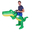 Inflatable Crocodile Hallowen Costume Trick or Treat One Size Fits All Adults