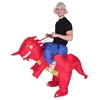 Inflatable Dragon Halloween Costume Trick or Treat One Size Fits All Adults