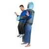 Inflatable Lift You Up Zombie Halloween Costume Trick or Treat One Size Fits All Adults
