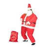 Inflatable Santa  Halloween Costume Trick or Treat One Size Fits All Adults