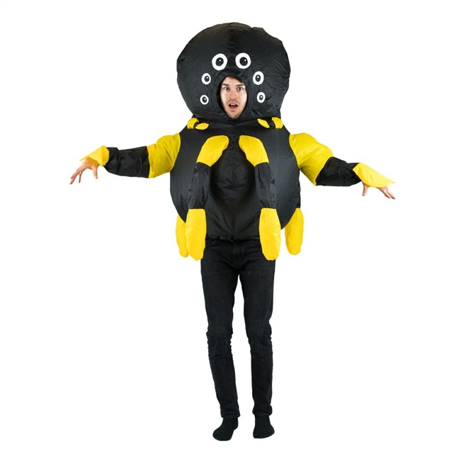 Inflatable Spider Halloween Costume One Size Fits All Adults