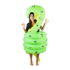 Inflatable Snake Halloween Costume One Size Fits All Adults