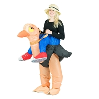 Inflatable Ostrich Halloween Costume One Size Fits All