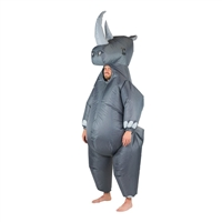 Inflatable Rhino Adults Halloween Costume One Size Fits All