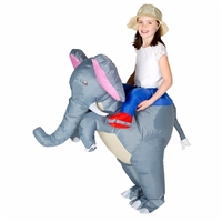 Inflatable Kids Elephant Halloween Costume One Size Fits All