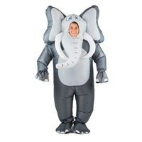 Inflatable Full Body Elephant Costume Halloween Costume One Size Fits All