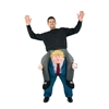 Inflatable Piggyback Donald Trump Halloween Costume One Size Fits All
