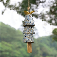 Dragonfly and Bells Ceramic Windchime