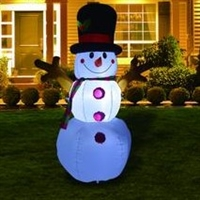 5.5 ft Christmas Inflatable Snowman