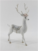 December Diamonds Standing Deer w/Magnolia
