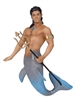 Dolphin Merman December Diamond Collectible Figurine Statue