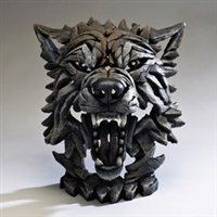 Edge Sculpture Wolf Bust  Home Decor Limited Edition