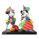 "Disney Britto Mickey & Minnie Mouse 9.67""  Figurine  Figurine Collectible Disney"
