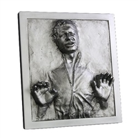 Star Wars Han Solo Carbonite 17-Inch Plaque