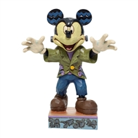 Disney Traditions Halloween Mickey Figurine  Collectible Statue