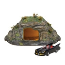 Hot Properties Village The Batcave With Batcar Collectible