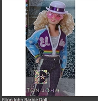 Elton John Barbie Doll  Limited Edition
