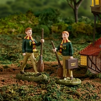Harry Potter Fred & George Weasley  Figurine collectible statue