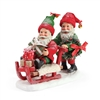 Possible Dreams Santa's Elves Delivers Statue Figurine