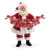 Possible Dreams Banner Christmas Santa Claus Figurine