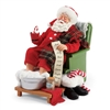 Possible Dreams Spa Day Santa Claus Figurine