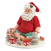 Possible Dreams Beach Yoga Santa Claus Figurine
