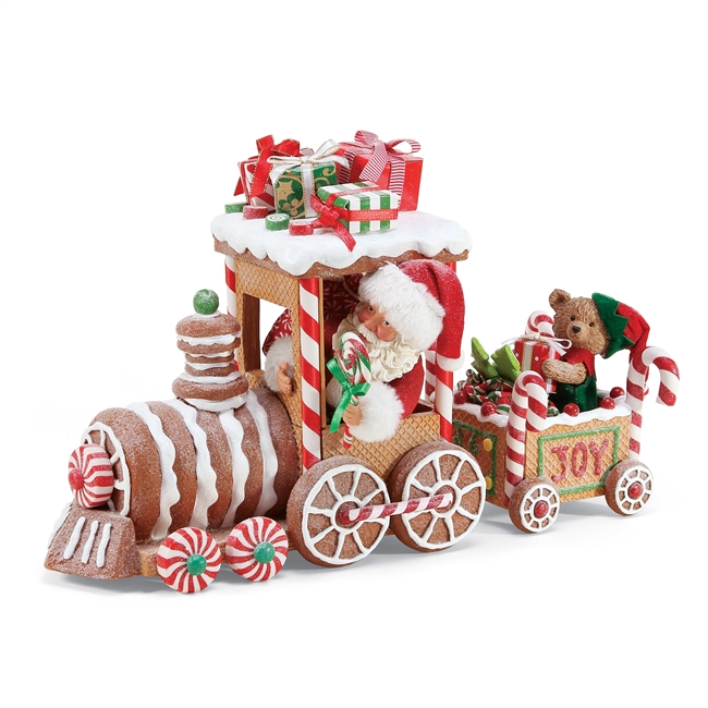 Possible Dreams Gingerbread Train  Figurine