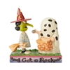 Disney Traditions Charlie Brown & Lucy Halloween  Halloween  Figurine