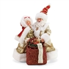Mr & Mrs Santa Claus Golden Years Statue Figurine