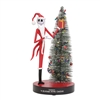 The NightMare Before Christmas Jack with Tree figurine