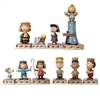 Jim Shore Peanuts Christmas Pageant 10 Pc Figurine Set