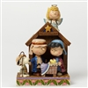 Jim Shore Peanuts Christmas Pageant Statue Figurine