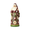 Jim Shore Heartwood Creek Santa with Satchel Statue Figurine