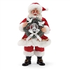 Possible Dreams Peace Wreath Santa Claus