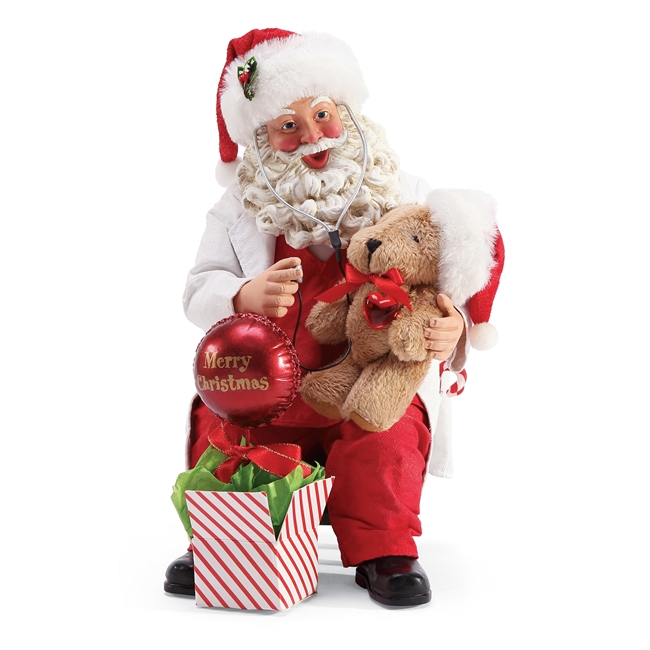 Possible Dreams Well Care Visit  Santa Claus