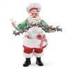 Possible Dreams Santa's 8 Tiny Reindeer  Santa Claus Figurine