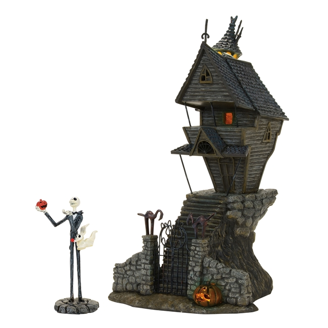 The NightMare Before Christmas Jack Skellington's House