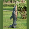 Dolphin Garden Spitter Lawn and Yard Decorations