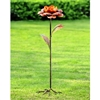 Camellia Flower Garden Sculpture Lawn and Yard Decorations