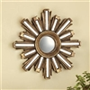Gold Deco Sunburst Wall Mirror home decorations