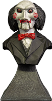 Buy The New 2020 Trick Or Treat Studios Saw Billy Puppet - Mini Bust is an amazingly sculpted creepy bust. There are several in the series so be sure to grab them all while you are here afterall even the creepy need to be loved.  You will love this bust.