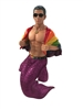 Pride Merman Large Display Figurine Sculpture not an ornament but a display piece measures 20 inches tall