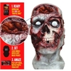 Digital Pulsing Zombie Brains Creepy Scary Halloween Mask