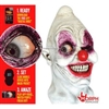 Digital Crazy Eye Clown Creepy Scary Halloween Mask